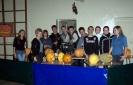 Październik dyskoteka Halloween zorganizowana przez klasę IIId