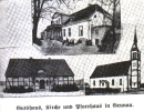 Przedwojenna pocztówka Starego Gronowa (Grunau).