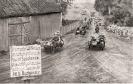 Wjazd wojsk niemieckich do Witkowa. Zdjęcie propagandowe z 1939 roku.