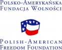 Logo Polsko-Amerykańskiej Fundacji Wolności, finansującej projekt