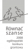 Logo Programu Równać Szanse 2008.