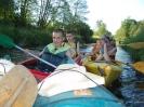Dzień I spływ kajakowy rzeką Kamionką 2011-06-03