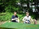 Biwak klasowy Ic nad jeziorem Mochel. :: Biwak sportowo-rekreacyjny klasy Ic nad jeziorem Mochel.