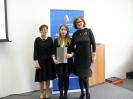 Lauretka konkursu przedmiotowego z chemii :: Julia Myszkowska laureatka konkursu przedmiotowego z chemii.