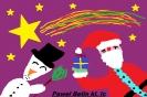 Kartki świąteczne gimnazjalistów.
