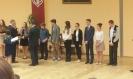 Uroczystość wręczenia nagród Laureatom Przedmiotowego Konkursu z Języka Niemieckiego. :: Laureaci Konkursu Przedmiotowego z Języka Niemieckiego.