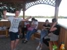 Spotkanie klasy Ib nad jeziorem - wspólne ognisko. :: Ognisko nad jeziorem klasy Ib.